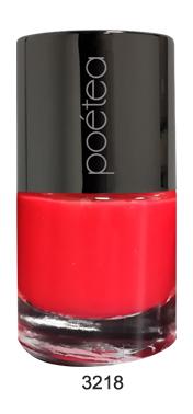 POETEQ Гель-лак для ногтей, тон 18, 7 мл3218Лак с эффектом гелевого покрытия. Наносить такой лак нужно обычным способом без использования лампы. Готовый маникюр выглядит так, как будто ногти покрыты гелевым UV лаком