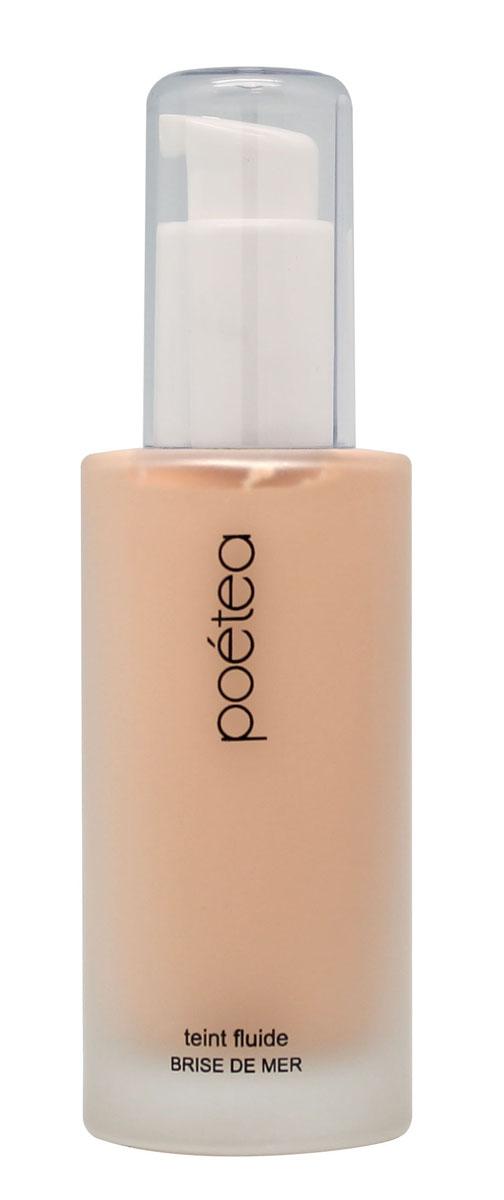 POETEQ Тональная основа-флюид Морской бриз, тон 02, 50 мл8802Наиболее активным компонентом этой тональной основы является гиалуроновая кислота. Она удерживает влагу в клетках кожи, постоянно увлажняя ее, не позволяя трескаться и шелушиться. Кроме того, в формулу тональной основы-флюида входят витамины C и E, которые противостоят вредному воздействию окружающей среды. Витамин E питает кожу, придавая ей природную мягкость и бархатистость. Подходит для сухой и нормальной кожи, рекомендуется с двадцати пяти лет. Используется как основа для нанесения рассыпчатых и спрессованных сухих пигментов, румян, хайлайтера.