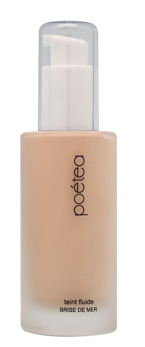 POETEQ Тональная основа-флюид Морской бриз, тон 03, 50 мл8803Наиболее активным компонентом этой тональной основы является гиалуроновая кислота. Она удерживает влагу в клетках кожи, постоянно увлажняя ее, не позволяя трескаться и шелушиться. Кроме того, в формулу тональной основы-флюида входят витамины C и E, которые противостоят вредному воздействию окружающей среды. Витамин E питает кожу, придавая ей природную мягкость и бархатистость. Подходит для сухой и нормальной кожи, рекомендуется с двадцати пяти лет. Используется как основа для нанесения рассыпчатых и спрессованных сухих пигментов, румян, хайлайтера.