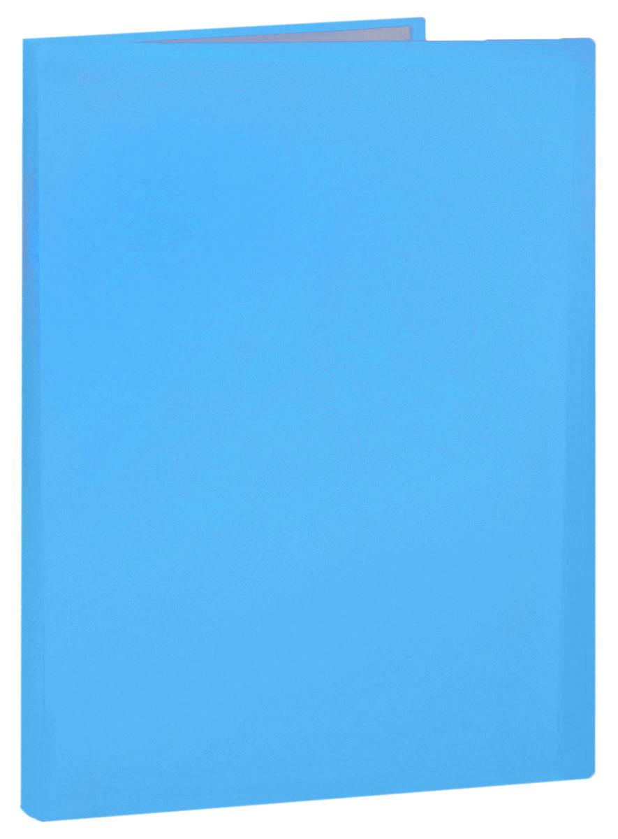 Erich Krause Папка с файлами 40 листов цвет голубой31017_голубойПапка Erich Krause содержит 40 прозрачных файлов-вкладышей. Она идеально подходит для хранения рабочих бумаг и документов формата А4 без перфорации, требующих упорядоченности и наглядного обзора: отчетов, презентаций, коммерческих и персональных портфолио.Папка выполнена из прочного пластика с гофрированной поверхностью в ярком цвете. Благодаря совершенной технологии производства папка не подвергается воздействию низкой температуры, не деформируется и не ломается при изгибе и транспортировке.