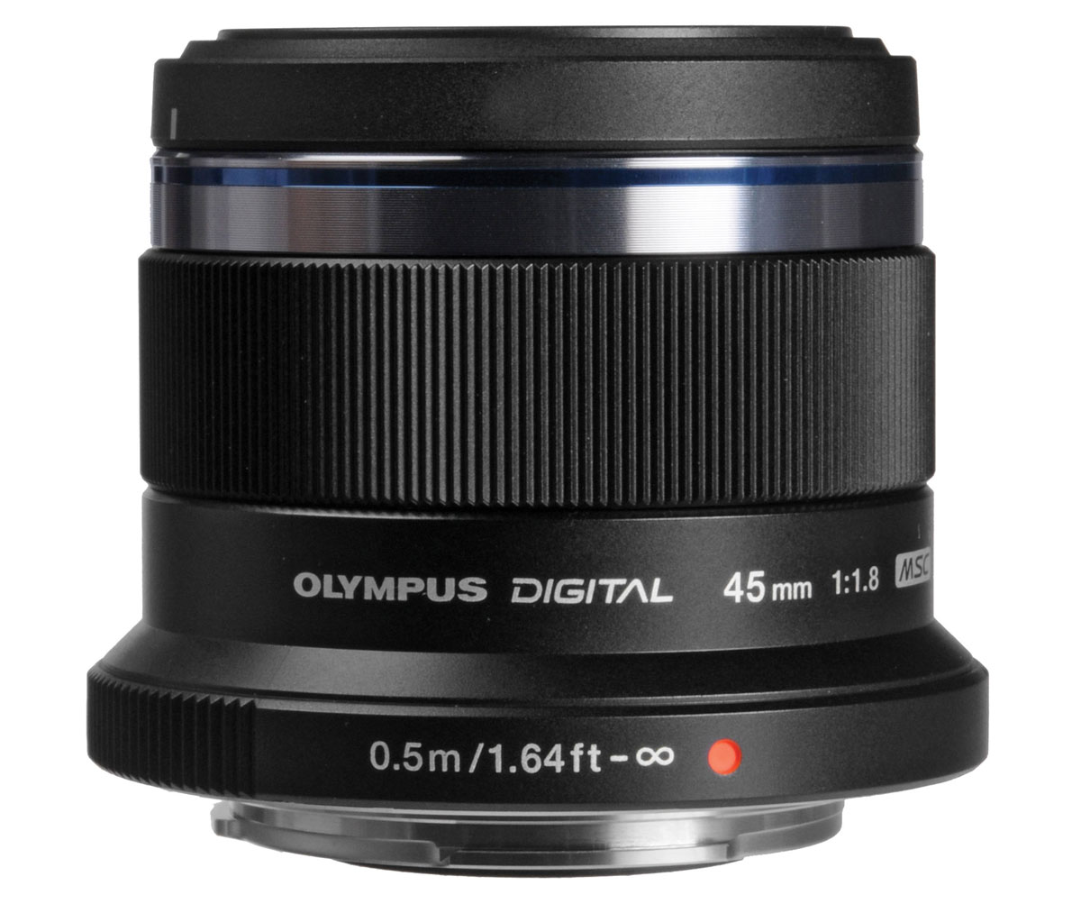 Olympus M.Zuiko Digital 45mm f/1.8, Black объектив - Объективы