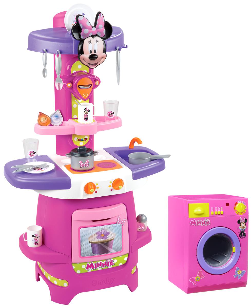 Smoby Игровая кухня Minnie Mouse smoby детская игровая кухня smoby minnie disney арт 24089