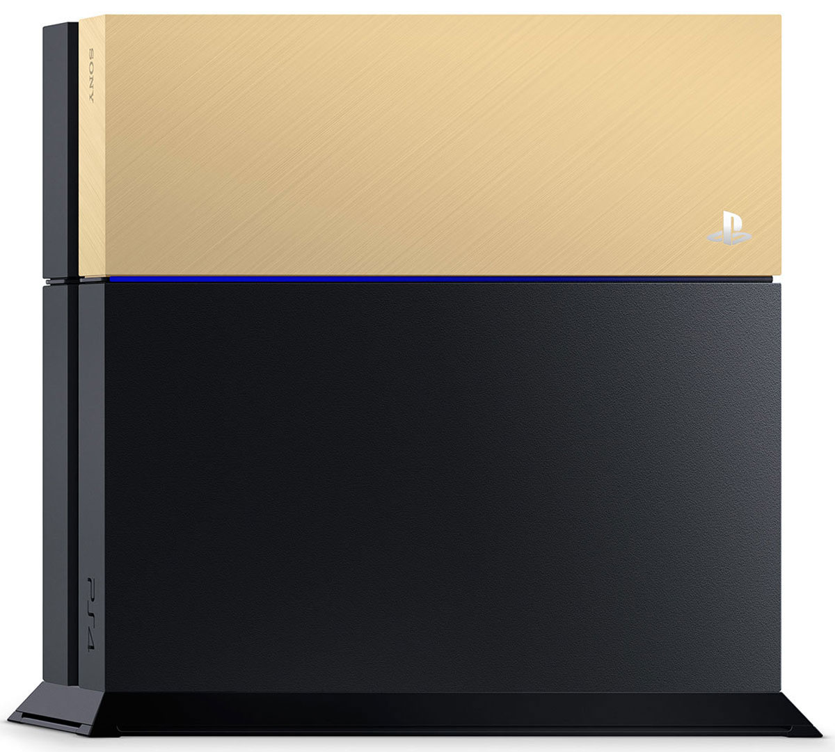 Дополнительная крышка для жесткого диска PS4 (золотая)1CSC20002112Настройте PS4 под себя! Добавьте яркого цвета вашей PlayStation 4 с этими специальными лицевыми панелями. Они плавно устанавливаются на крышку отсека жесткого диска (HDD), а ваша система PS4 мгновенно приобретает новый облик.