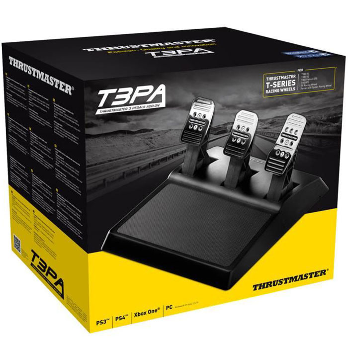 Thrustmaster T3PA 3 Pedals Add On, Blackпедали Thrustmaster