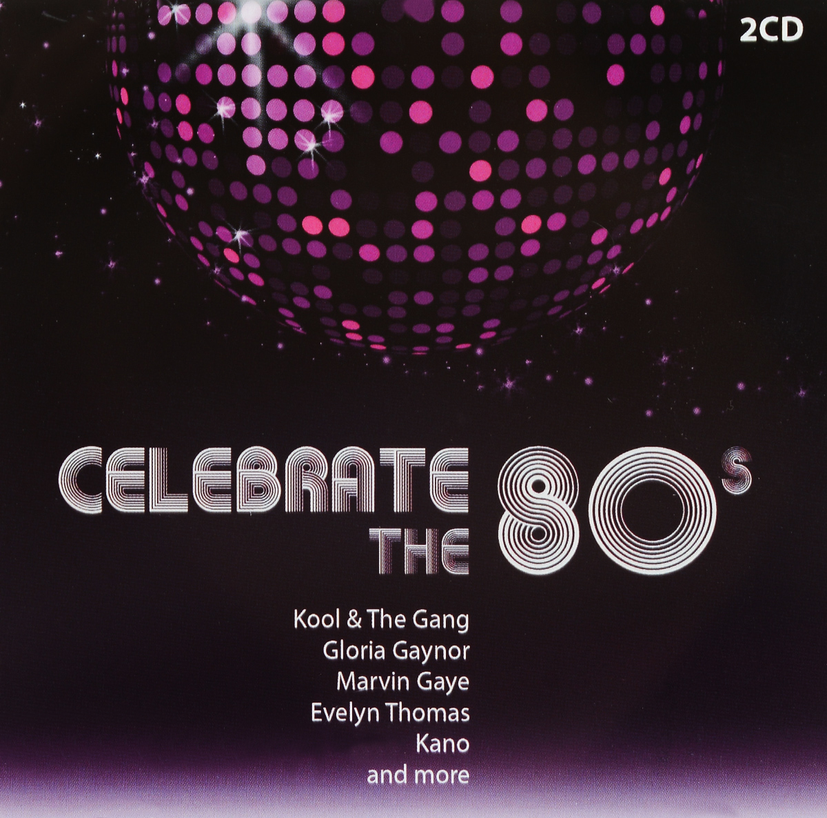 Celebrate the 80's (2 CD) leather s dj amdition level 2 cd