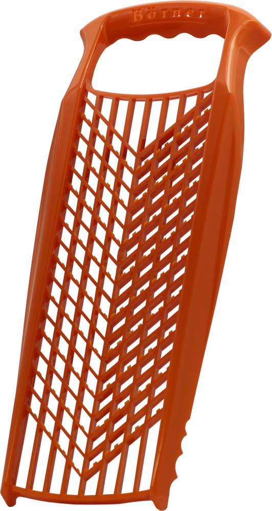 Терка для детского питания Borner Prima, цвет: оранжевый роко терка borner classic цвет сиреневый