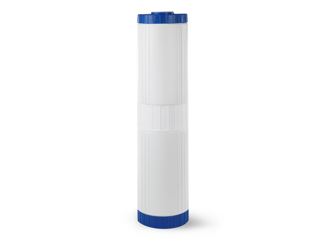 Сменный модуль для систем фильтрации холодной воды Гейзер БС 20 BB30611Картридж Гейзер БС 20ВВ.Предназначен для удаления из воды избыточных солей жесткости на ионообменной смоле пищевого класса.Гарантирует отсутствие осадков и накипи на нагревательных приборах. Способность к удалению солей жесткости ионообменной смолы восстанавливается после простой регенерации раствором поваренной соли.Подходит для корпусов стандарта 20ВВ (Big Blue) любых производителей.Общий ресурс с учетом регенерации до 20000 л. (при жесткости воды до 5 мг-экв/л).