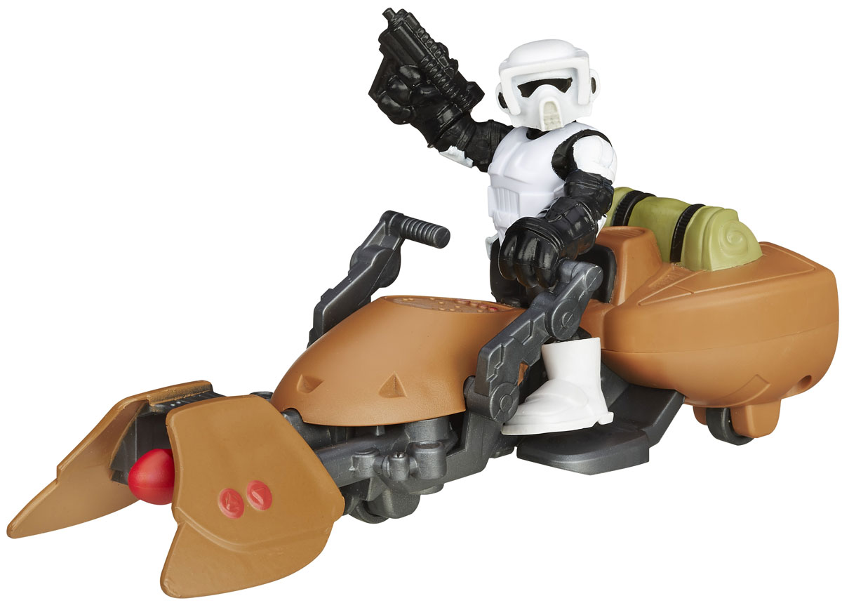 Playskool Игровой набор Scout Trooper & Speeder Bike