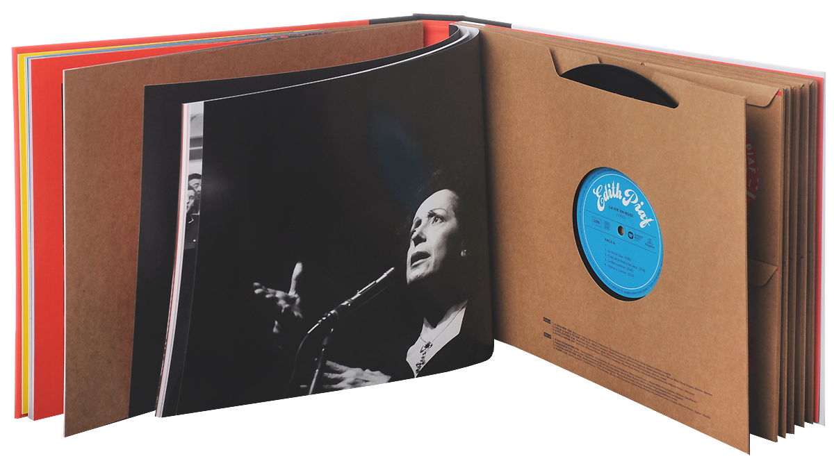 Edith Piaf.  1915-2015.  Limited Numbered Edition (20 CD + LP)