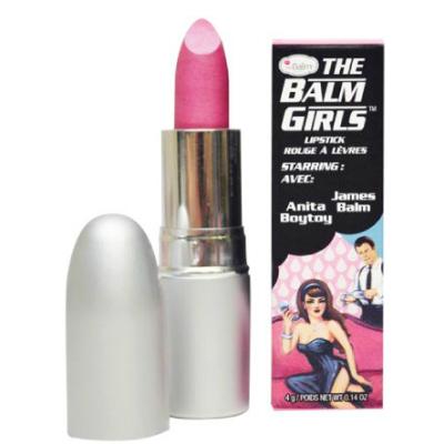 theBalm Губная помада theBalm Girls Anita BoyToy,4 гр100291Губная помада theBalm Girls® придает насыщенный пигмент и ухаживает за кожей губ.