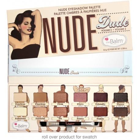 theBalm Палетка теней Nude Dude,11,08 гр803949Новая палетка состоит из 12 прекрасных оттенков обнаженной серии мужчин. В палетку входят как светлые оттенки — хайлайты, так и темные, которые добавят глубину и объем вашему макияжу.