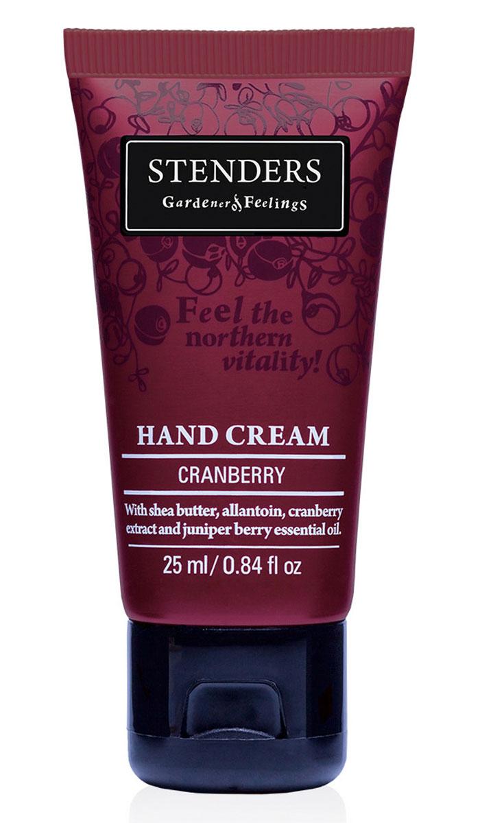 Stenders Крем для рук Клюква, 25 млCHCЗащитный крем обеспечит особый, ежедневный уход за кожей ваших рук. Содержит натуральное твердое масло ши, которое обильно питает кожу, а аллантоин, клюквенный экстракт и можжевеловое эфирное масло сделают руки бархатисто-нежными и гладкими. Крем легко впитывается в кожу, придавая ей натуральный аромат, наполненный силой.Изо дня в день крем будет защищать ваши руки, делая кожу гладкой и бархатистой. Он сформирует защитный слой, удерживающий влагу, заботясь таким образом о красоте и эластичности кожи.Клюква – доказательство того, насколько щедрый и красивый урожай может давать природа даже в суровых северных регионах. Уникальный состав этой растущей на болотах ягоды придает ее экстракту очень ценные свойства: он богат витамином С и антиоксидантами и стимулирует естественные процессы обновления кожи.