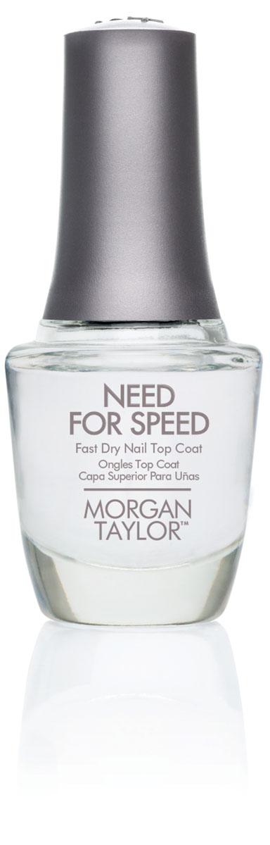 Morgan Taylor Быстросохнущее покрытие для ногтей, 15 мл51001Прозрачный.Наша жизнь - это вечная спешка. Вот почему это супер-быстрое верхнее покрытие Morgan Taylor Need For Speed придет к финишу первым, сохраняя не тускнеющий блеск и прочность вашего лакового покрытия. Подходит для всех типов натуральных ногтей.