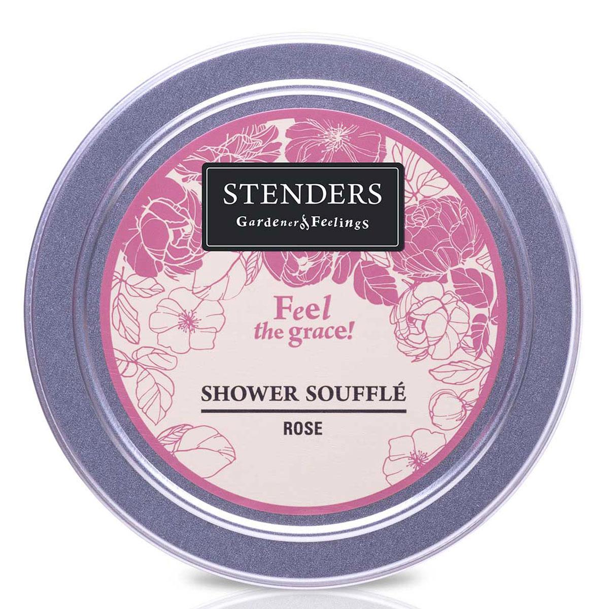 Stenders Мусс для душа Розовый, 110 гDZ002Это легкая кремовая пена очищает кожу так нежно, словно прикосновение лепестков роз. Это утонченный способ наслаждаться мягким купанием. Почувствуйте, как королевский аромат эфирного масла розы создает утонченную и изящную атмосферу. Этот мусс бережно относится к вашей коже - его ph 5,5 и он не содержит парабенов и сульфатовPH - нейтральный мягкий воздушный мусс для мытья тела. Питательное масло сладкого миндаля великолепно в косметике, поскольку является полезным даже для самой чувствительной кожи. Оно абсолютно легко впитывается в вашу кожу, смягчая ее. Розовое эфирное масло получают методом дистилляции пара из лепестков розы. Для него характерен опьяняющий, чудесный аромат зрелых цветов. Розовое эфирное масло помогает снять возбуждение. Кроме того, оно пробуждает в вас особо утонченные чувства. Глицерин – это органическое соединение с увлажняющим и смягчающим кожу воздействием. Кроме того, ему присуща способность привлекать влагу из воздуха.