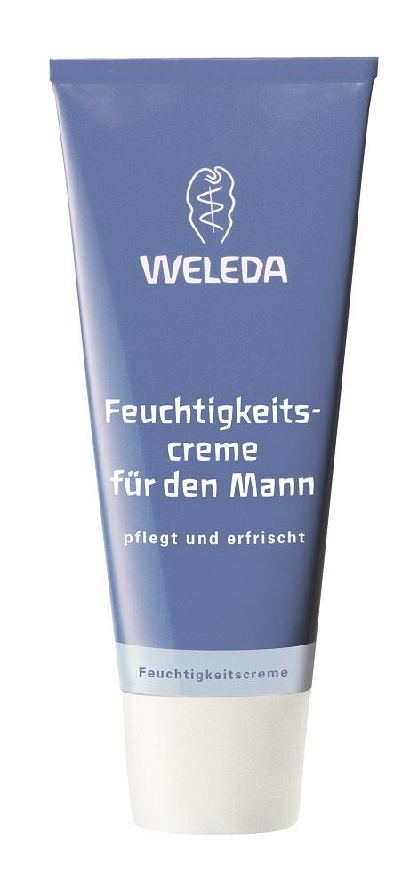 Weleda Увлажняющий мужской крем для лица 30 мл8656Для всех типов кожи. Подходит также для чувствительной кожи.Увлажняющий мужской крем от Weleda мгновенно впитывается. Это легкий увлажняющий уход, который освежает и обеспечивает гладкость кожи. Входящие в состав продукта ценные масла кунжута и жожоба защищают кожу от вредных воздействий окружающей среды, а вытяжка из корня алтея успокаивает кожу и помогает сохранить влажность. Кожа приобретает эластичность, исчезает ощущение стянутости. Натуральные эфирные масла придают крему свежий аромат. Не содержит ингредиентов на основе минеральных масел и синтетических ароматизаторов, красителей и консервантов. Протестировано дерматологами.Применение: Увлажняющий мужской крем нанести на ощищенную кожу и нежно вмассировать.