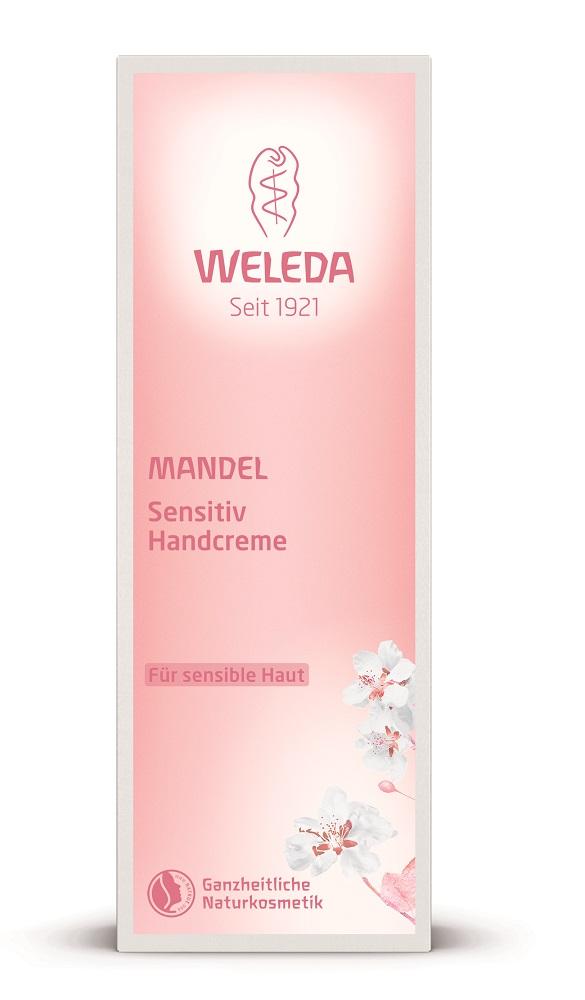 Weleda Деликатный крем для рук миндальный 50 мл226120Легкий крем с нежнейшей сливочной текстурой быстро впитывается и предохраняет кожу от негативных воздействий окружающей среды, создавая особый защитный слой. Надолго увлажняет и питает кожу, делая ее гладкой и шелковистой. Органическое масло миндаля восстанавливает гидролипидный баланс, успокаивает склонную к раздражениям кожу и способствует регуляции собственных барьерных функций эпидермиса. Не содержит агрессивных компонентов, синтетических ароматизаторов, красителей и консервантов. рН-сбалансирован. Подходит для веганов. Без глютена.