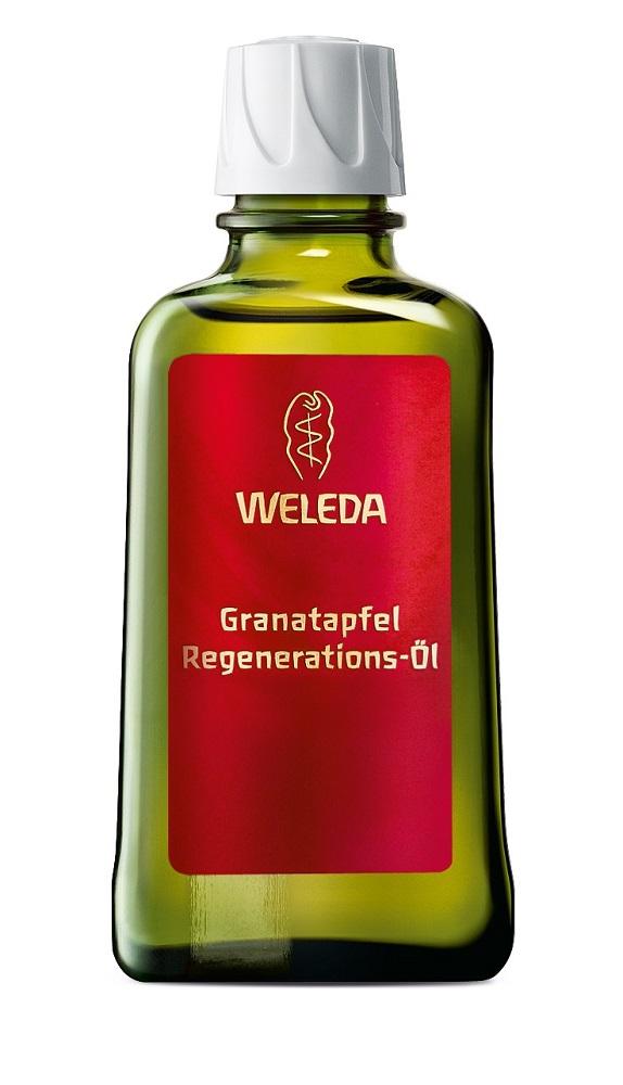 Weleda Гранатовое восстанавливающее масло для тела 100 мл8847100% натуральное гранатовое масло для тела специально разработано дляроскошного ухода за зрелой кожей. Благодаря высокому содержаниюантиоксидантов и ненасыщенных жирных кислот защищает от воздействияокружающей среды и предотвращает преждевременное старение кожи. Маслокосточек граната стимулирует естественные процессы регенерации. Богатаякомпозиция ценных растительных масел (макадамии, жожоба, ростков пшеницы)интенсивно питает и способствует сохранению влаги в клетках. Тонкий пряныйаромат чистейших эфирных масел пробуждает чувственность. При регулярномприменении кожа становится упругой, подтянутой и заметно более гладкой. Преимущества Продукт не содержит силиконов, минеральных масел, синтетическихароматизаторов, красителей и консервантов.
