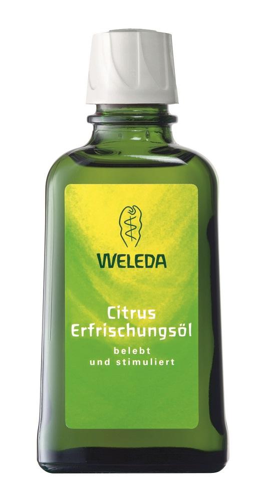 Weleda Цитрусовое освежающее масло для тела 100 мл пилинг weleda березовый для душа отзывы