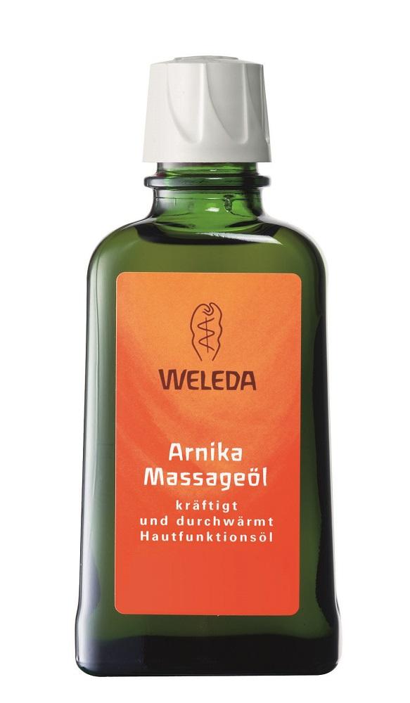 Weleda Массажное масло с арникой 100 мл пилинг weleda березовый для душа отзывы