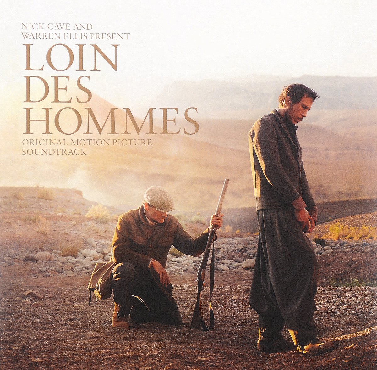 Nick Cave and Warren Ellis. Loin Des Hommes. Original Motion Picture Soundtrack (LP)