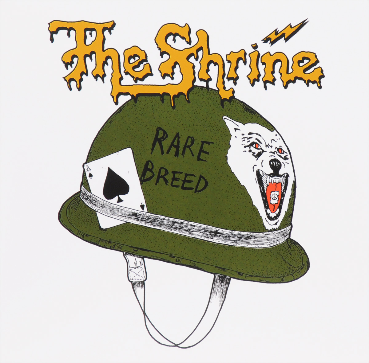 The Shrine The Shrine. Rare Breed (LP + CD)