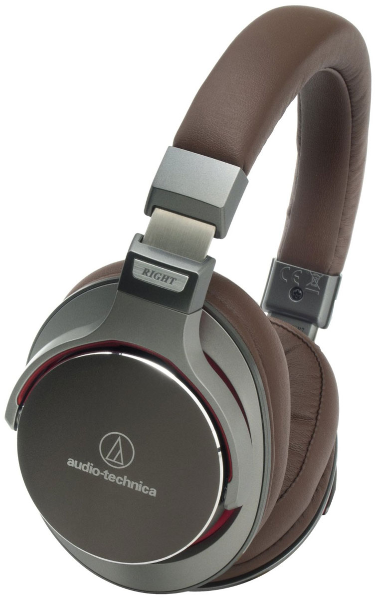 Audio-Technica ATH-MSR7, Brown наушники audio technica ath a550z полноразмерные наушники matte black