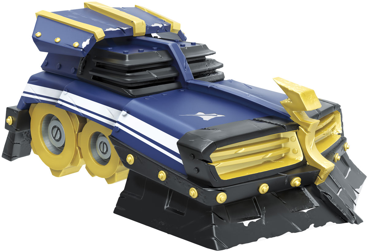 Skylanders SuperChargers. Фигурка машины Shield Striker (Стихия Tech)