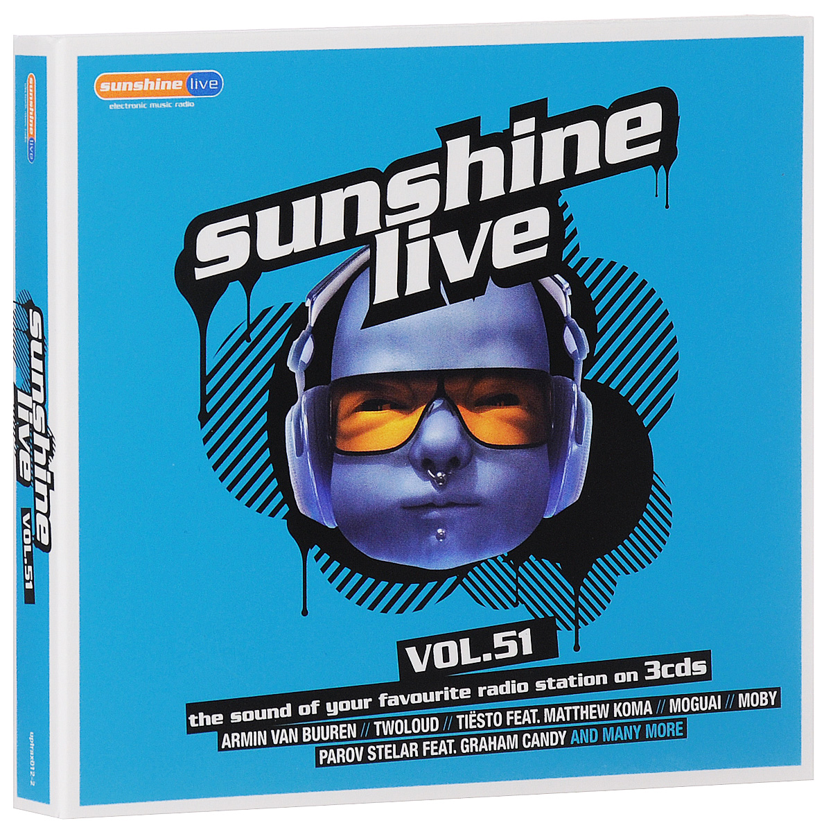 Sunshine Live. Volume 51 (3 CD)