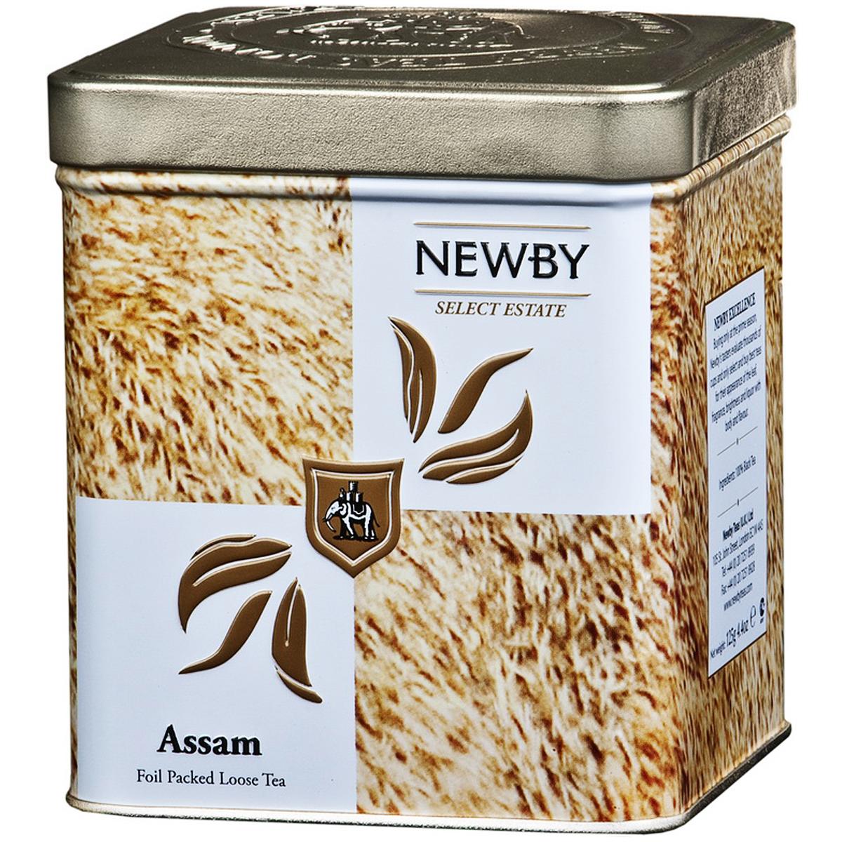 Newby Assam Safari черный листовой чай, 125 г132010Чай Newby Assam Safari из знаменитого чайного штата Ассам на северо-востоке Индии. Золотистые почки, янтарный настой с ароматом мелассы и солодовым послевкусием. По-настоящему крепкий, бодрящий чай.