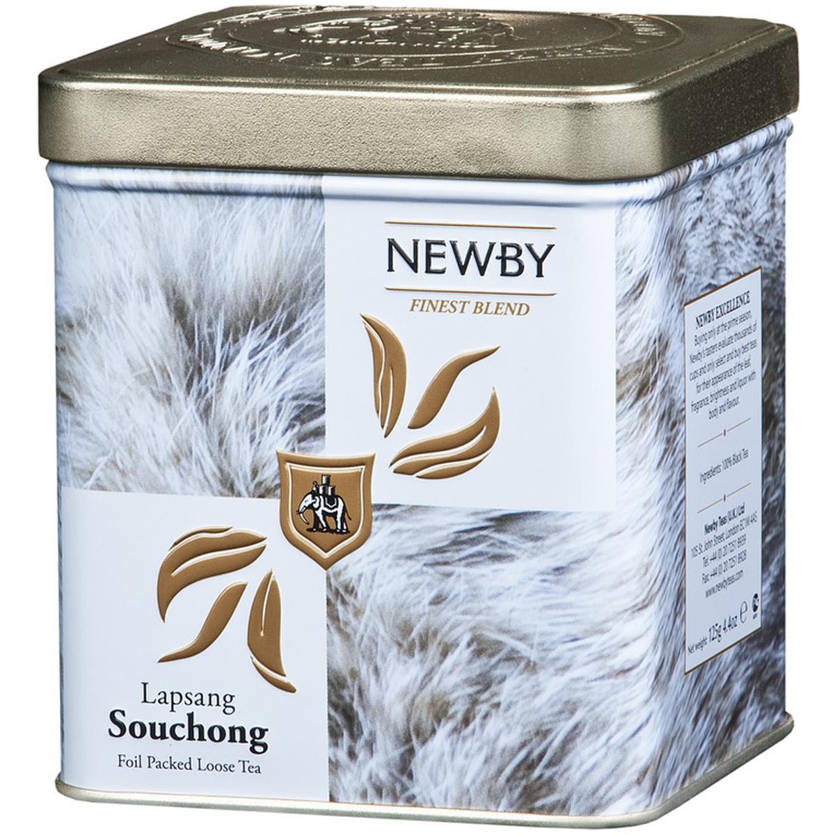 Newby Lapsang Souchong Safari черный листовой чай с ароматом дыма, 125 г newby chi chi sencha зеленый листовой чай 125 г