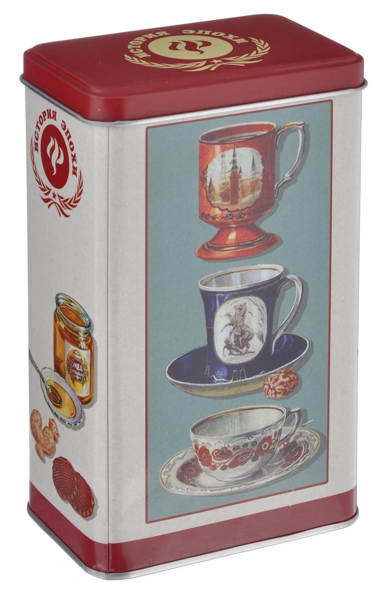 Банка для сыпучих продуктов Феникс-Презент Чашки, 900 мл37615Банка для сыпучих продуктов Феникс-Презент Чашки, изготовленная из окрашенного черного металла, оформлена ярким рисунком. Банка прекрасно подойдет для хранения различных сыпучих продуктов: специй, чая, кофе, сахара, круп и многого другого. Емкость плотно закрывается крышкой. Благодаря этому она будет дольше сохранять свежесть ваших продуктов.Функциональная и вместительная, такая банка станет незаменимым аксессуаром на любой кухне. Нельзя мыть в посудомоечной машине.Объем банки: 900 мл.Высота банки (без учета крышки): 16 см. Размер банки (по верхнему краю): 9,5 см х 6 см.