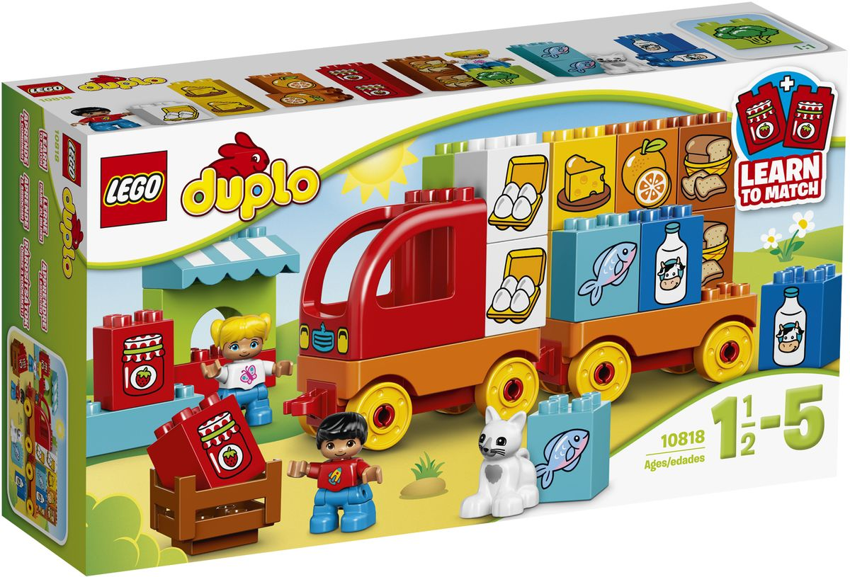 LEGO DUPLO Конструктор Мой первый грузовик 10818 конструкторы lego lego игрушка мой первый поезд номер модели 10507 серия duplo