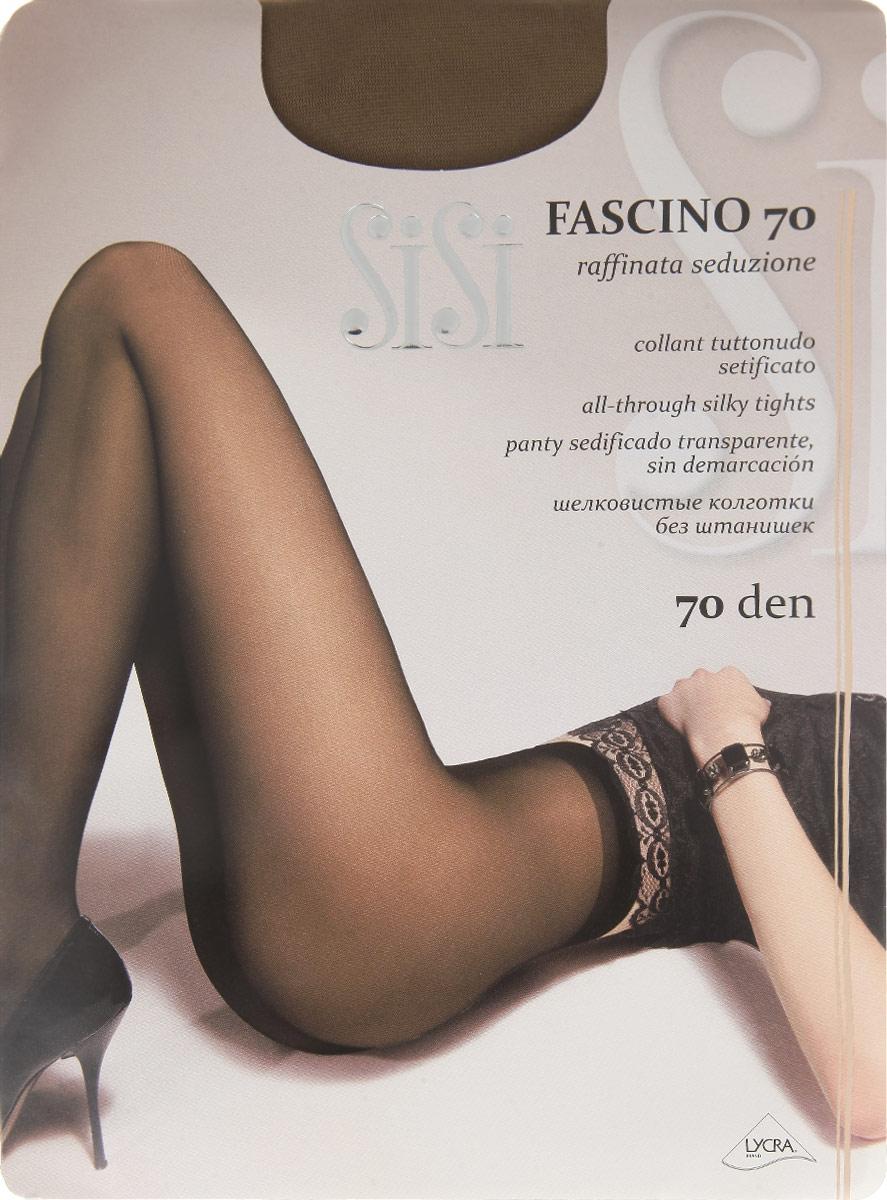 Колготки Sisi Fascino 70, цвет: Daino (загар). 66SISI. Размер 3 (42/44) колготки sisi mia размер 4 плотность 40 den daino