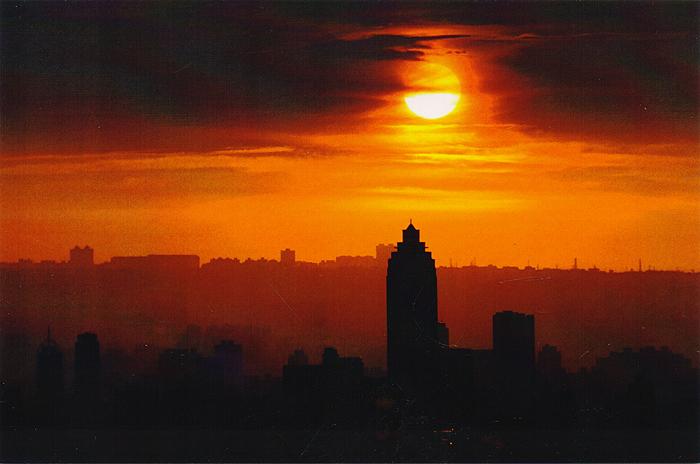 Taipei. Sunset. Открытка открытка хочун именинник 10 х 15 см