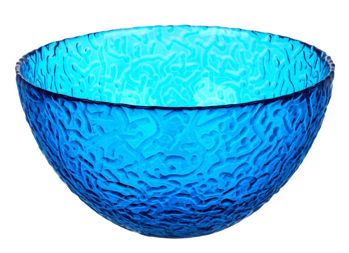 Салатник NiNaGlass Ажур, цвет: синий, диаметр 25 смNG83-043BСалатник NiNaGlass Ажур выполнен из высококачественного стекла и декорирован рельефным узором. Он подойдет для сервировки стола как для повседневных, так и для торжественных случаев. Такой салатник прекрасно впишется в интерьер вашей кухни и станет достойным дополнением к кухонному инвентарю. Подчеркнет прекрасный вкус хозяйки и станет отличным подарком.Не рекомендуется использовать в микроволновой печи и мыть в посудомоечной машине. Диаметр салатника (по верхнему краю): 25 см.Высота стенки: 10 см.
