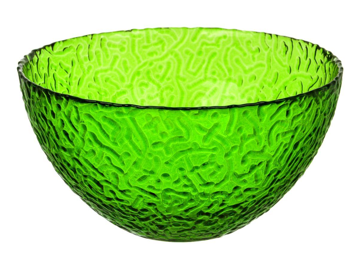 Салатник NiNaGlass Ажур, цвет: зеленый, диаметр 25 смNG83-043GСалатник NiNaGlass Ажур выполнен извысококачественного стекла и декорированрельефным узором. Он подойдет для сервировкистола как для повседневных, так и дляторжественных случаев.Такой салатник прекрасно впишется в интерьервашей кухни и станет достойным дополнением ккухонному инвентарю. Подчеркнет прекрасныйвкус хозяйки и станет отличным подарком.Не рекомендуется использовать вмикроволновой печи и мыть в посудомоечноймашине.Диаметр салатника (по верхнему краю): 25 см.Высота стенки: 10 см.