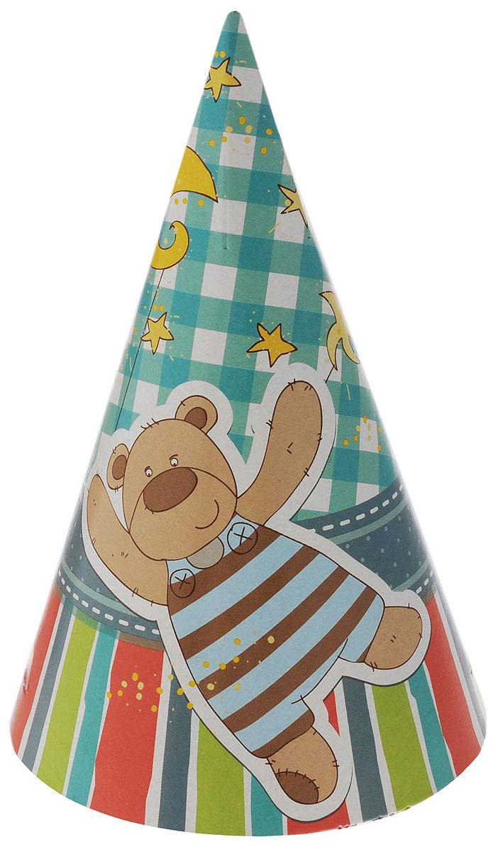 Веселая затея Колпак Я родился 6 шт -  Колпаки и шляпы