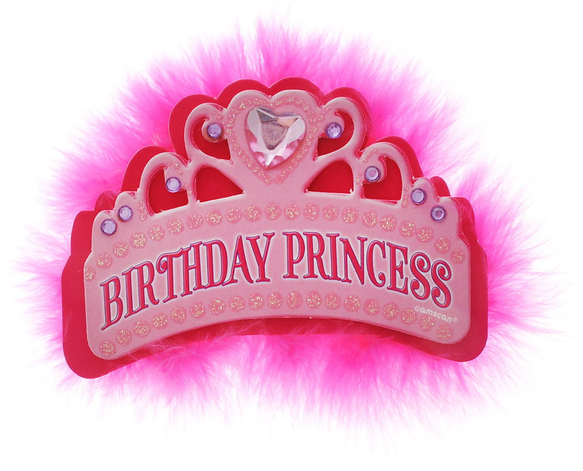 Amscan Значок Тиара Birthday Princess значок armani