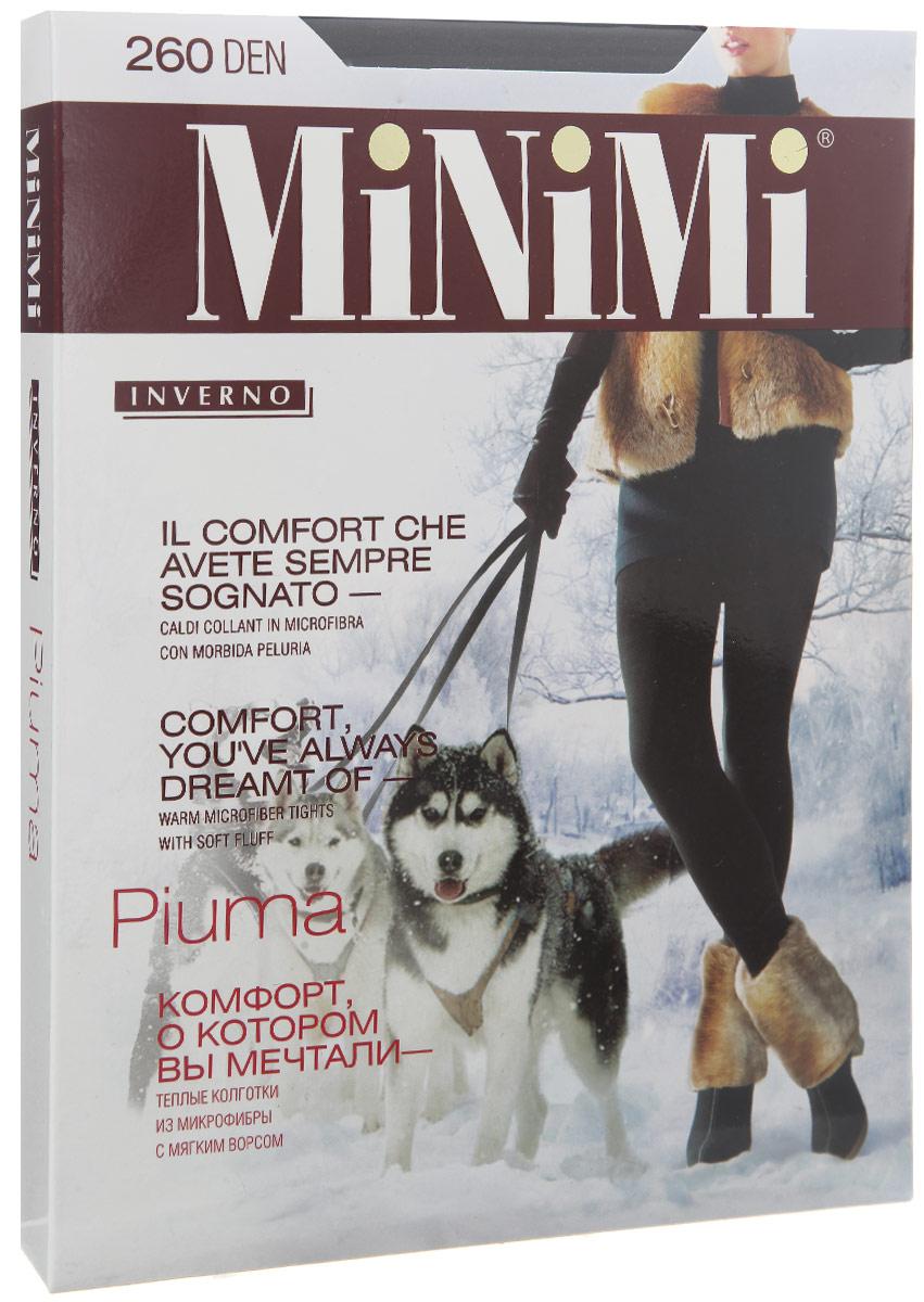 Колготки Minimi Piuma 260, цвет: Nero (черный). Размер 6 (56/58) колготки minimi avanti размер 3 плотность 20 den nero