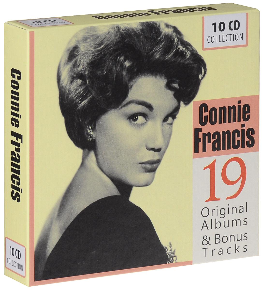 Connie Francis. 19 Original Albums & Bonus Tracks (10 CD)