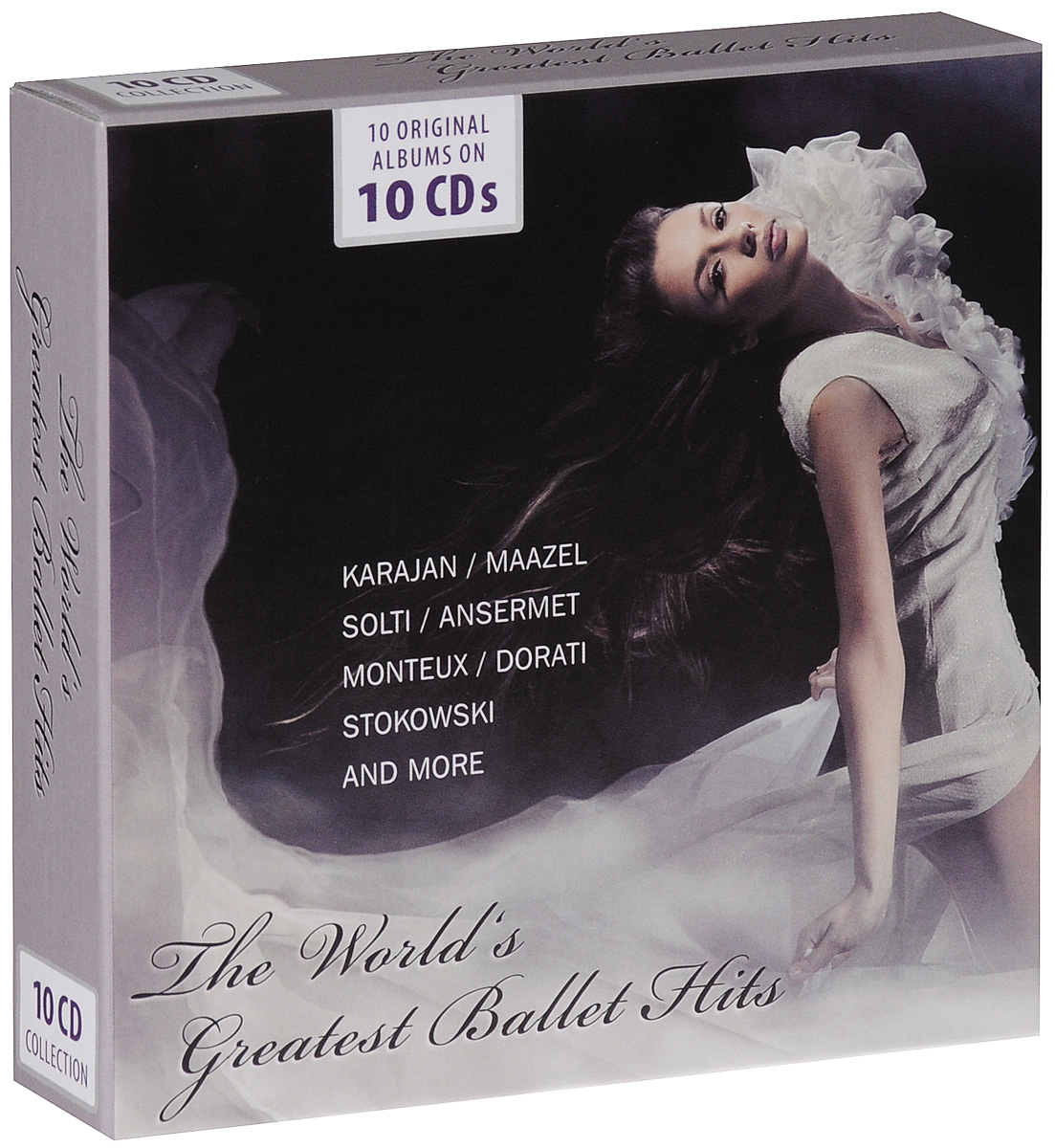 The World's Greatest Ballet Hits (10 CD) кэрри андервуд carrie underwood greatest hits decade 1 2 cd