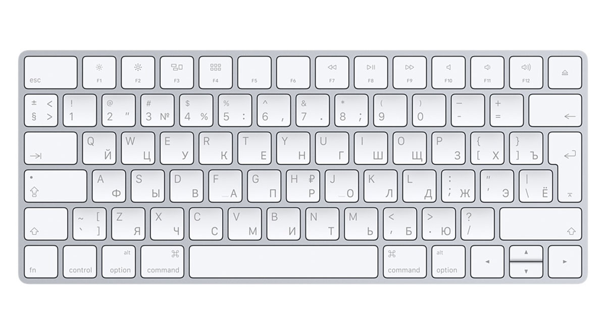 Apple Magic Keyboard (MLA22RU/A) клавиатура