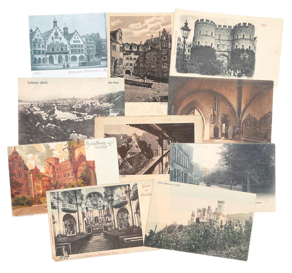 Германия. Комплект из 10 открыток