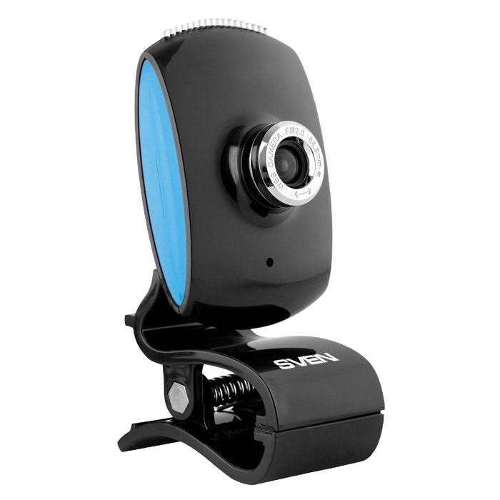 Sven IC-350 веб-камераSV-0602IC350Веб-камера SVEN IC-350 имеет такие особенности: встроенный микрофон, настраиваемое фокусное расстояние. В конструкции предусмотрены удобная клипса для установки камеры (на монитор или поверхность стола) и шариковый шарнир для поворота камеры под нужным углом. Такое устройство – отличное решение для тех, кто ценит функциональность и доступность в плане цены. Дизайн у модели классический. Камера имеет интерфейс USB и поддерживает технологию Plug&Play.Длина кабеля: 1,25 мФокусное расстояние: 4,8 мм – бесконечностьЧастота кадров: до 30 кадров/сек