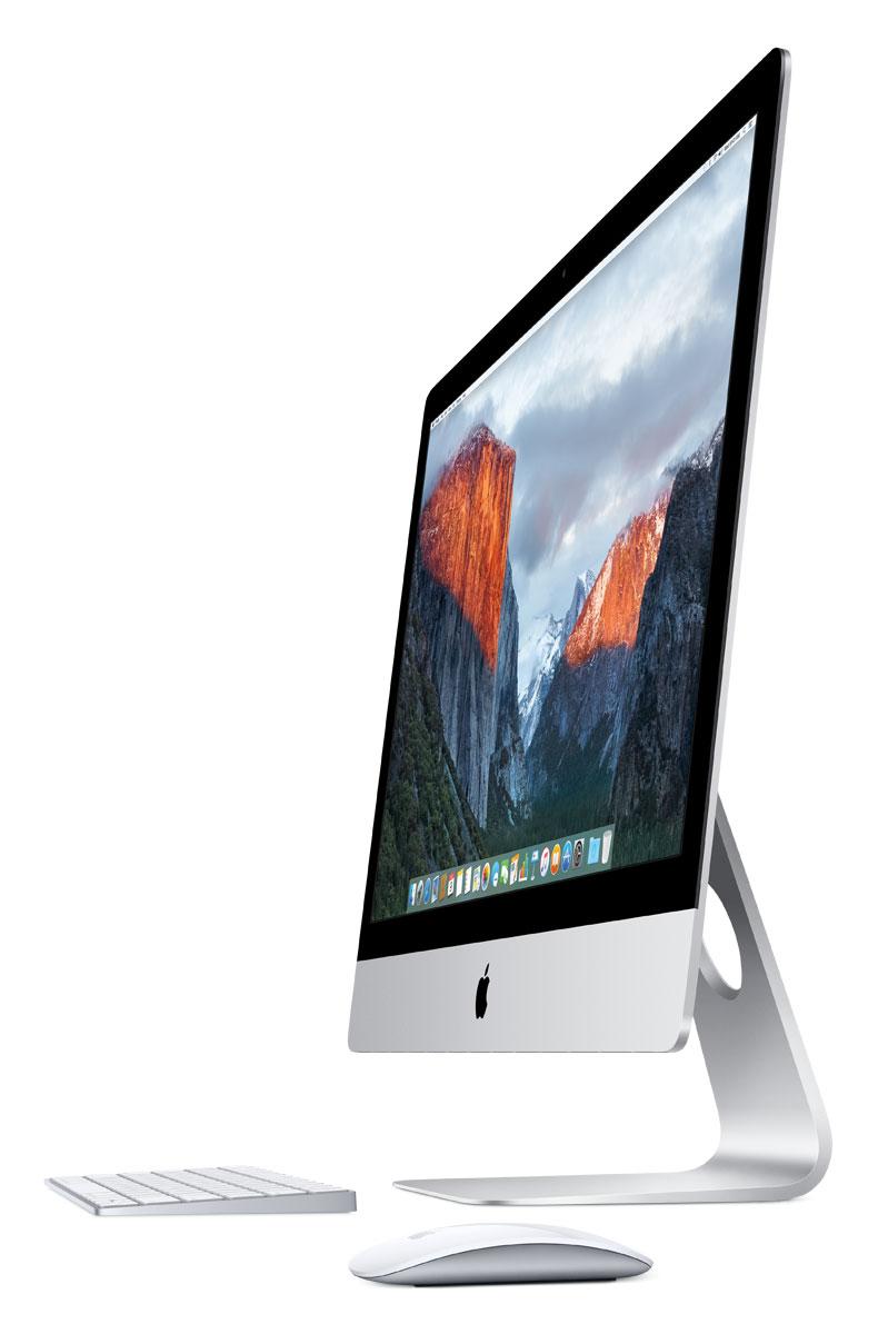 Apple iMac 27 Retina 5K (MK482RU/A) моноблокMK482RU/AApple iMac 27 Retina 5K объединяет всё лучшее из мира Mac: мощные технологии, отличную производительность, самую передовую в мире компьютерную операционную систему и великолепные встроенные приложения. А невероятное разрешение 5120 х 2880 пикселей позволит вам увидеть на экране всё, чего вы не видели раньше.Где бы ни находился ваш iMac - в студии, в гостиной или на кухне, - его экран неизменно остаётся в центре внимания. Это окно в вашу жизнь. Поэтому мы приложили столько усилий, чтобы сделать его действительно великолепным. Текст на экране настолько приятно читать, как будто перед вами печатная страница. Фотографии раскрывают все детали, о которых вы раньше и не догадывались. А видео выглядит ещё естественнее, чем реальный мир. Почти всё, что появляется на экране, содержит текст. В разрешении 5120 x 2880 пикселей он выглядит ещё чётче, чем прежде. Вам покажется, что просмотр сайтов, работа с электронной почтой и картами и другие привычные действия теперь приносят ещё больше удовольствия. И это действительно так.Это самый мощный iMac в истории. iMac с дисплеем Retina 5K в стандартной комплектации оснащается процессором Intel Core i5 с тактовой частотой 3,2 ГГц. А те, кому нужно ещё больше мощности, впервые могут выбрать 4-ядерный процессор Intel Core i7 с тактовой частотой 4,0 ГГц. Какой бы вариант вы ни выбрали, вам обеспечены высокая производительность и высокая скорость для выполнения любых задач. Моноблок оснащён новейшей графической системой AMD с вычислительной мощностью до 3,5 терафлоп. Когда вы смотрите или создаёте фильм, играете в игру или разрабатываете её, мощная графическая система обеспечивает плавную анимацию, высокую скорость и быстрый отклик. Благодаря этому вы получаете незабываемые визуальные впечатления.iMac оснащён накопителем Fusion Drive объёмом 1 ТБ с возможностью увеличить объём до 3 ТБ. Этот накопитель объединяет лучшее из двух технологий: большой объём жёстких дисков и высокую скорость ф