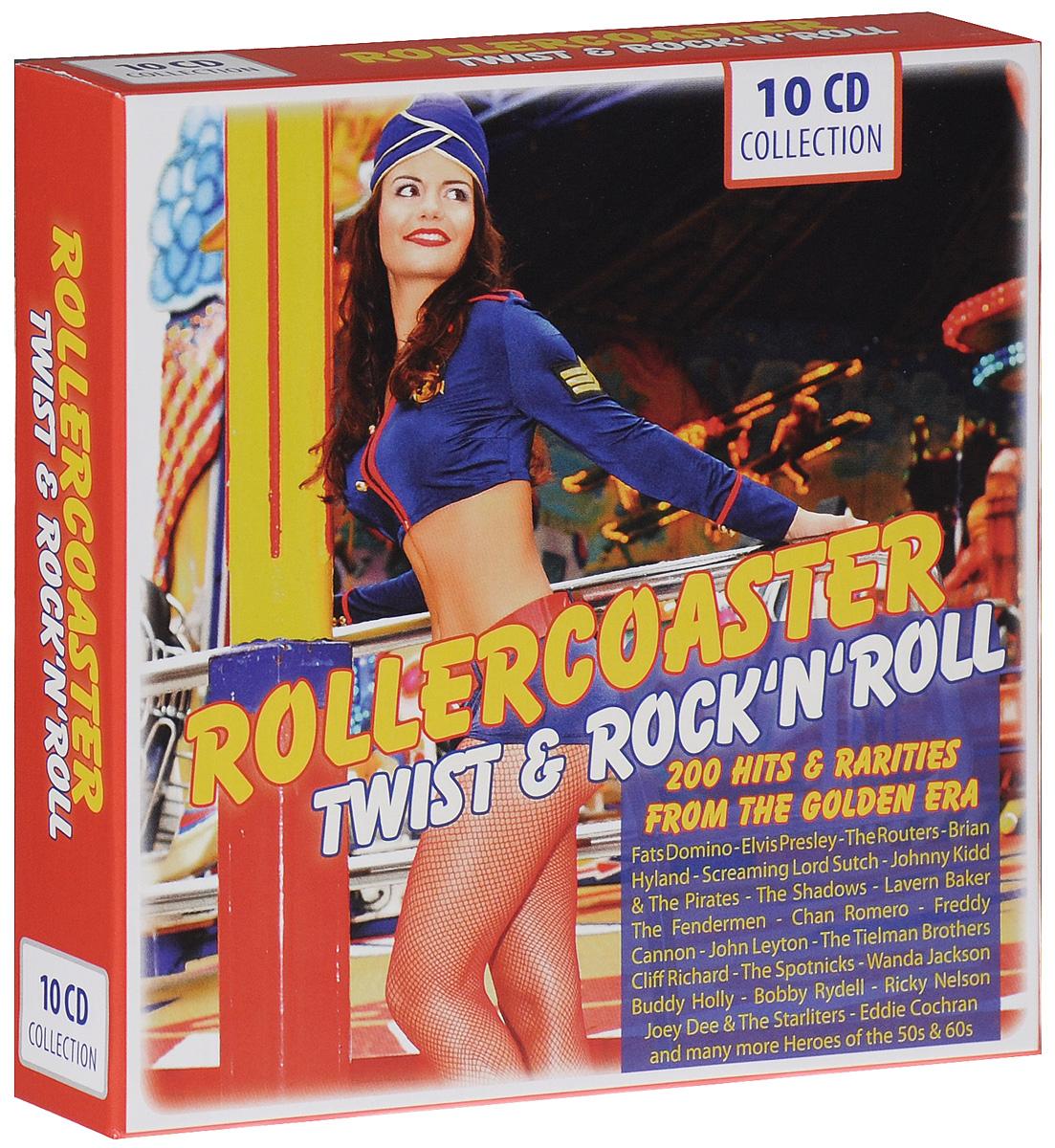 цена на Rollercoaster. Twist & Rock 'N' Roll (10 CD)