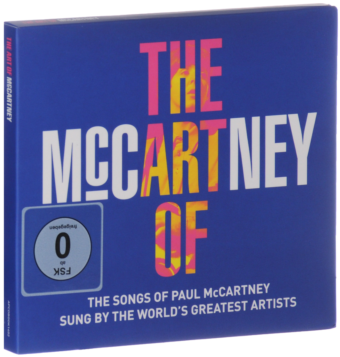 The Art Of McCartney (2 CD + DVD) reakosound 6201a 6 2 inch 6201a audio dvd sb sd bluetooth 2 din car cd player 1 3 inch color cmos camera