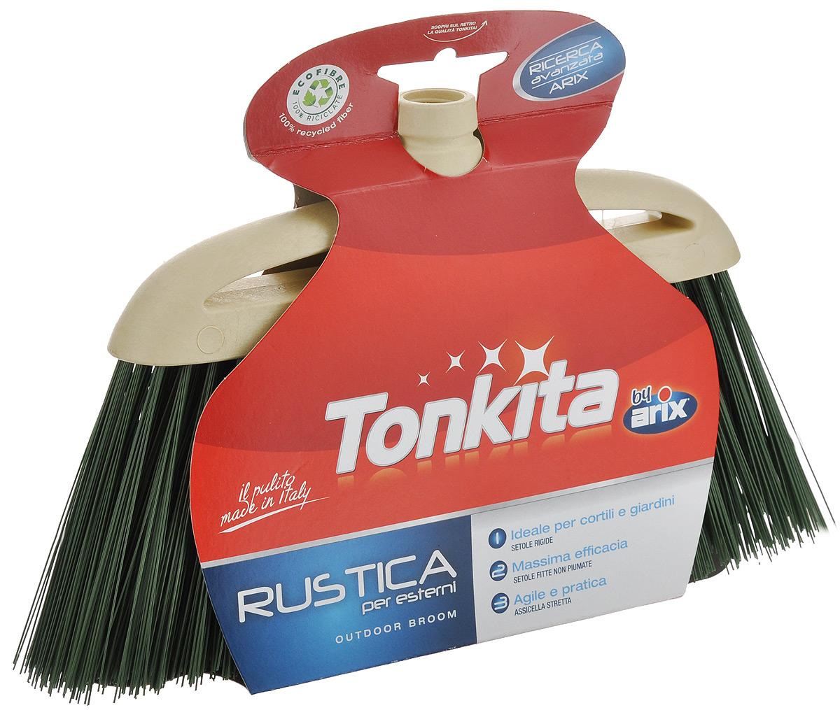 Щетка-насадка Tonkita Рустика для уборки мусора, цвет: бежевый, зеленыйTK630Щетка-насадка Tonkita Рустика, изготовленная из прочного полипропилена, предназначена для уборки в доме и на улице. Упругие и длинные волоски щетки-насадки не оставят от грязи и следа. Оригинальная, современная щетка для швабры, которую можно подобрать к любому интерьеру, сделает уборку эффективнее и приятнее.Универсальная резьба подходит ко всем видам ручек.Размер щетки-насадки: 33 см х 9 см.Длина ворса: 12 см.