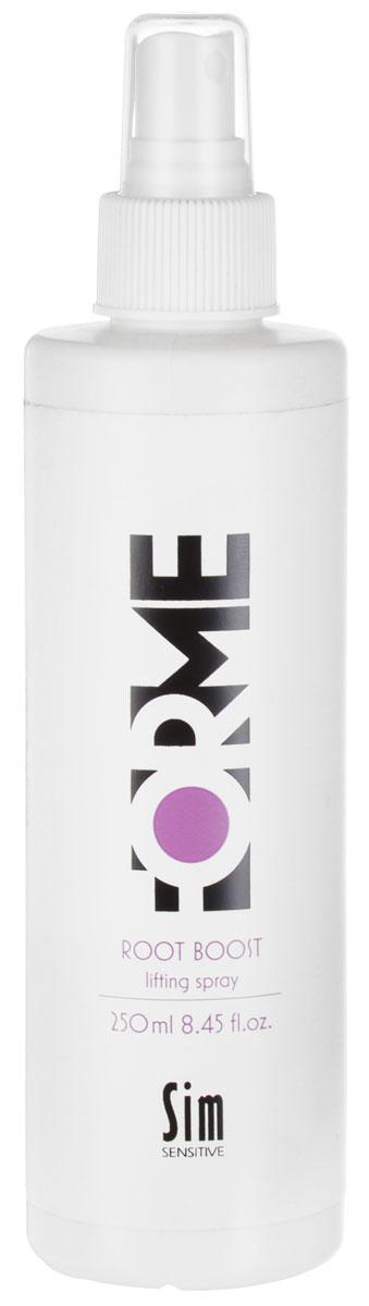 Sim Sensitive Cпрей для волос Forme, для создания прикорневого объема, 250 мл5358Спрей от Sim Sensitive Forme разработан специально для тонких и средних волос. Создает невесомый объем волос и держится в течении всего дня. В состав спрея входит экстракт клюквы и УФ-фильтр, которые защищают волосы от вредных воздействий окружающей среды. Благодаря большой концентрации витаминов и микроэлементов, спрей питает, ухаживает и защищает волосы.- Фиксация; 4.- Объем; 5.- Блеск; 3.Проверено дерматологами.Товар сертифицирован.