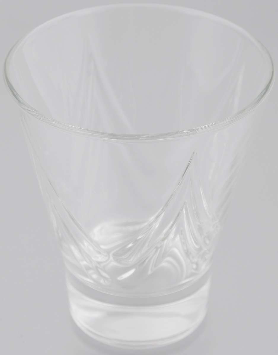 Стакан OSZ Bell Призма, цвет: прозрачный, 250 мл стакан osz этюд цвет прозрачный 200 мл